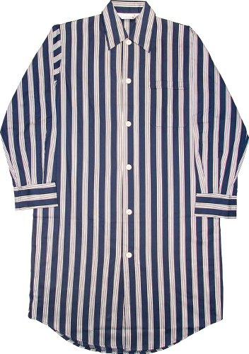 Derek Rose 100% Cotton Satin Stripe Fine Cotton Nightshirt - Many Colours Available