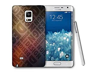 Snoogg Design Printed Protective Phone Back Case Cover For Samsung Galaxy NOTE EDGE