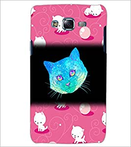 PrintDhaba Kitty D-2861 Back Case Cover for SAMSUNG GALAXY ON 7 (Multi-Coloured)