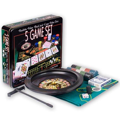 five-game-casino-set-roulette-poker-black-jack-craps-poker