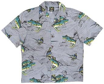 Dorado and marlin fishing hawaiian shirt tom kelly by for Fish hawaiian shirt