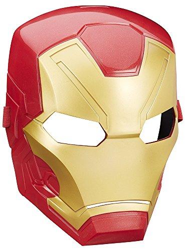 ハズブロ コスプレ シビル・ウォー/キャプテン・アメリカ マスクベーシック アイアンマン・マーク46 高さ約22センチ プラスチック製 なりきりマスク