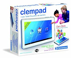 Clementoni 13645 Clempad Android Tablet, Wi-Fi, 3G [versione 2012]