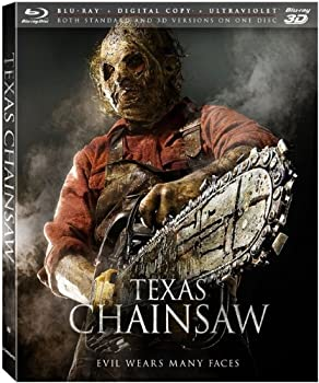 Texas Chainsaw on 3D Blu-ray / Blu-ray / Digital HD