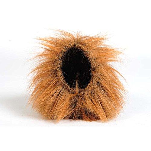 Generic Pet Dog Cat Lion Wigs Mane Hair Fancy Dress Costume Small Brown
