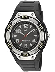 Fastrack Analog Black Dial Watch For Men - 9333PP02J