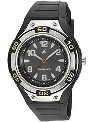 Fastrack Analog Black Dial Watch For Men - 9333PP02J