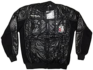 Buy NEW Mens Kappa Alpha Psi Divine Nine Plush Quilted Zip Up Fraternity Jacket ΚΑΨ by Big Boy Gear Divine Fraternity & Soroity