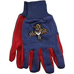 NHL Florida Panthers Two-Tone Gloves