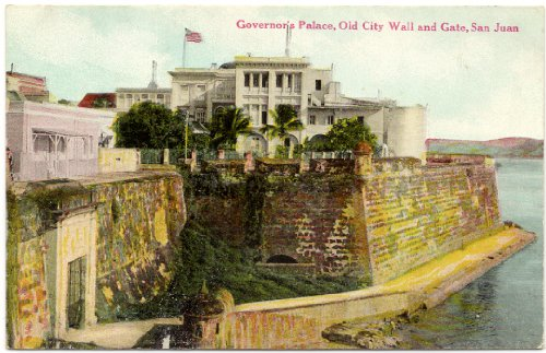 1909 Vintage Postcard Governor's Palace - Old