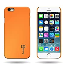 buy Iphone 6 Case, By Coveron® Hard Rubber Slim Case For Iphone 6 4.7 Inch - Neon Orange