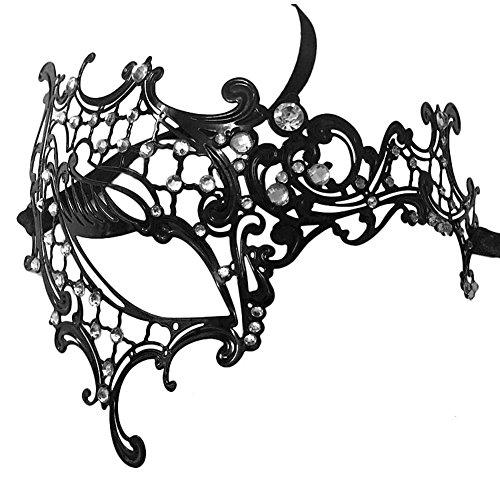 by-halloween-metal-laser-cut-filigree-masquerade-venetian-party-mask-black