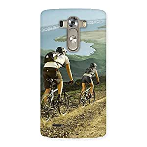 Mountain Bikers Back Case Cover for LG G3
