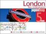 London Bus Underground Popout Map