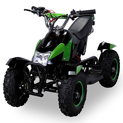 Miniquad Cobra Kinder ATV 49 cc Pocketquad 2-takt Quad ATV Pocket Quad Kinderquad Kinderfahrzeug grün / schwarz