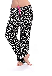 Totally Pink Women's Warm and Cozy Plush Pajama Bottoms