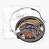 Flexible Color Changing RGB Ribbon Flexible LED Light Strip 12v (5m 16.4ft/reel) By Ledwholesalers, 2034rgb