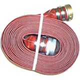 Eagleflo Eagle PVC Discharge Hose Assembly, Red, Male X Female Water Shanks