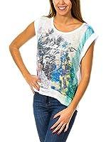ZZ_MET Camiseta Manga Corta (Blanco)