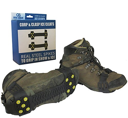 quik-solve-snow-ice-traction-shoe-boot-cleats-walking-grip-spikes-medium