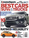 img - for Consumer Reports Best Cars SUVs & Trucks (Ratings & Reference Guide) book / textbook / text book