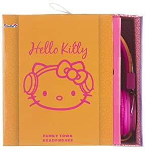 Hello Kitty Folding Over-Ear Headphones for iPhone/iPod/iPad special