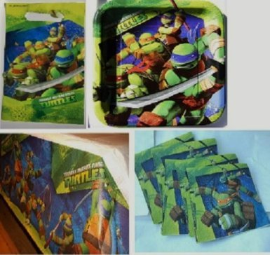 Buy Teenage Mutant Ninja Turtles Birthday Party Set Pack for 16