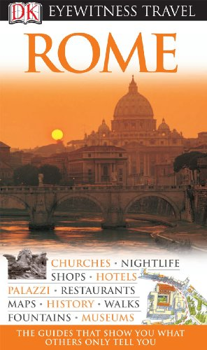 DK Eyewitness Travel Guide to Rome