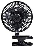 "Comfort Zone CZ6C ClipOn Fan, 6"", Black"