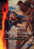 img - for Russia Soviet Union 1917.1945: From Tsar to Stalin (Cambridge Senior History) by Thomas David McAndrew Mark (1999-10-14) Paperback book / textbook / text book