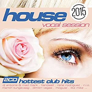 Various artists house the vocal session 2015 amazon for Vocal house music 2015