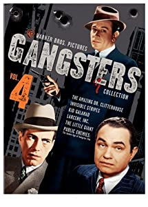 Warner Gangsters Collection, Vol. 4 (The Amazing Dr. Clitterhouse / Invisible Stripes / Kid Galahad / Larceny, Inc. / The Little Giant / Public Enemies: The Golden Age of the Gangster Film) (Sous-titres français)
