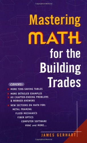 Mastering Math for The Building Trades - McGraw-Hill/TAB Electronics - 0071360239 - ISBN:0071360239