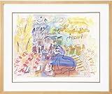 アートジグレー版画額付『ラウル・デュフィー』《青いピアノとオーケストラ》 【送料無料】