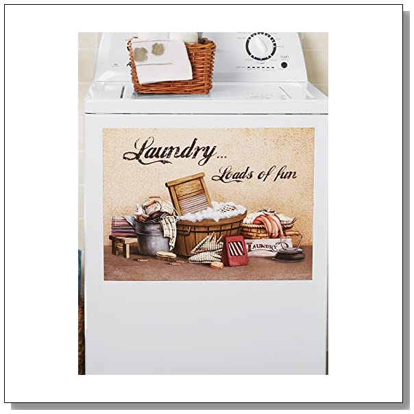 Laundry Washer Magnetic Cover