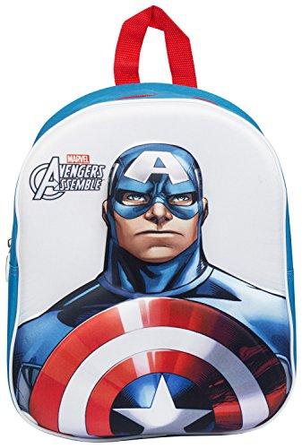 Capitan America Marvel Avengers-Zaino in 3D