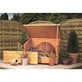 4FT x 3FT DELUXE TONGUE & GROOVE GARDEN CHEST