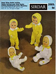 Sirdar Knitting Patterns For Dolls Clothes : Sirdar Dolls Clothes Knitting Pattern - Pram Set For Baby ...