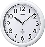 MAG(マグ) 電波壁掛け時計 カプタイン アナログ表示 連続秒針 ホワイト W-650WH-Z
