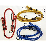 NEW 6 PIECE BUNGEE CORD ROPE STRAP SET CAMPING