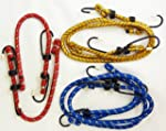 NEW 6 PIECE BUNGEE CORD ROPE STRAP SE...