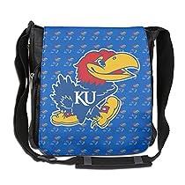 Kansas Jayhawks Logo Cross Body Shoulder Bag