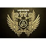 Paper Plane Design High Quality Linkin Park Poster (18 X 12 ) Inch | Delivered In Free Re-useable Solid Cardboard...