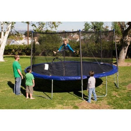 Airzone-12-Trampoline-with-Safety-Enclosure-Blue