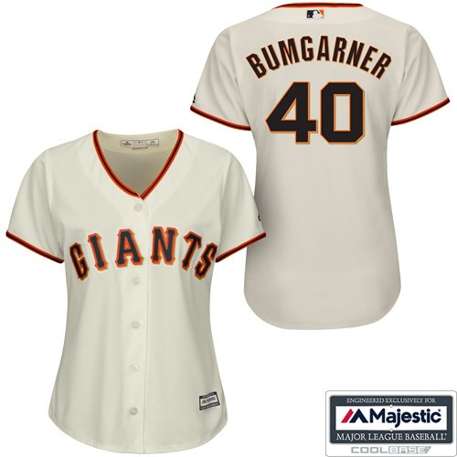 Madison Bumgarner San Francisco Giants #40 MLB Women