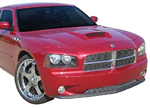 2006-2010 Dodge Charger Hood Scoop Painted PRH Inferno Red