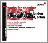 English Chamber Orchestra Earle Brown: A Life in Music Vol. 2