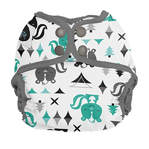 Imagine Baby Products Newborn Diaper Cover, Snap, Lil Stinker