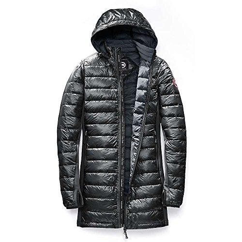 Canada Goose Hybridge Lite Coat - Women's Black / Slate Large (Women Down Coat Canada Goose compare prices)