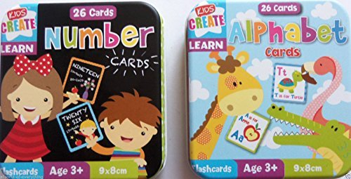 2-x-tins-childrens-learning-alphabet-numbers-cards-comes-complete-in-storage-tins